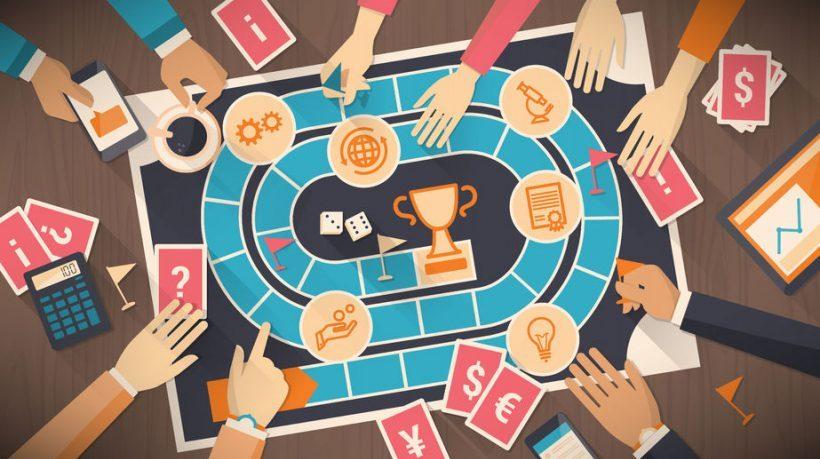 Principe de gamification autour d'une communauté de participants