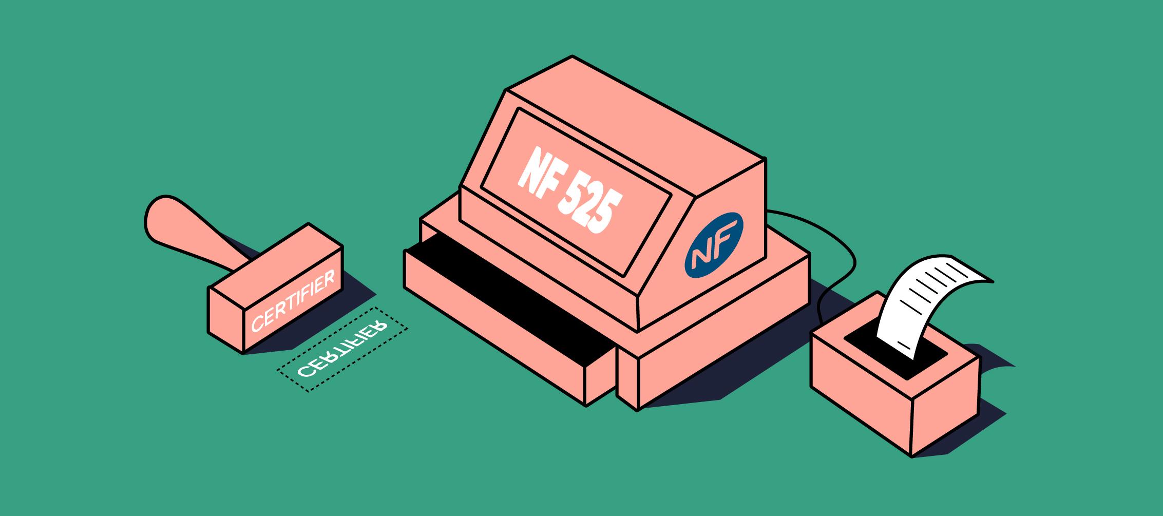 logiciel de caisse NF525