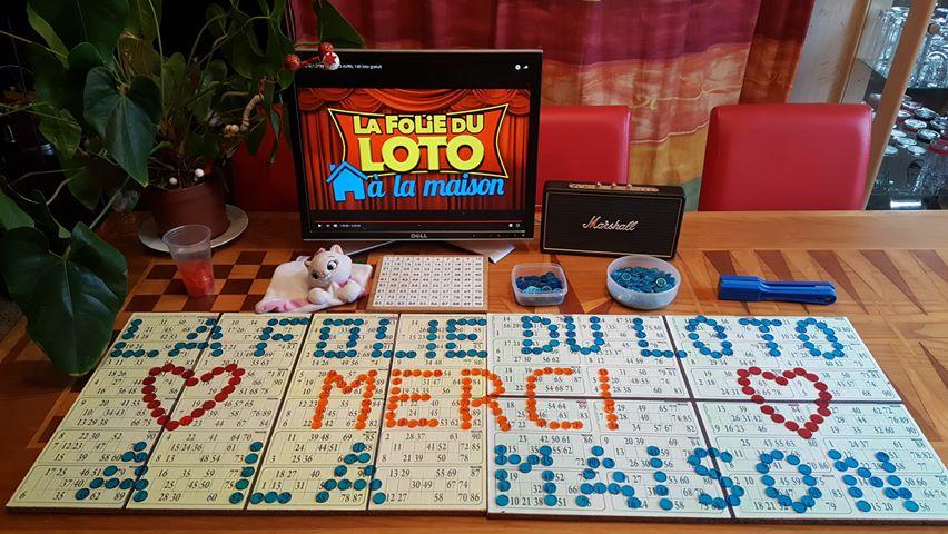 Diffusion de l'évènement live streaming La Folie du Loto à la Maison