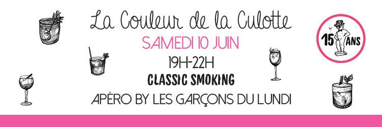 CLASSIC SMOKING PARTY - ANNIVERSAIRE 15 ANS!