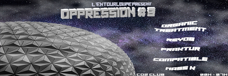 Oppression #3 @t CO2 Club w/ FUNKTION ONE System