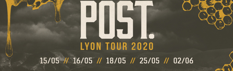 POST. Lyon Tour 2020