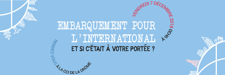 Embarquement pour l'international
