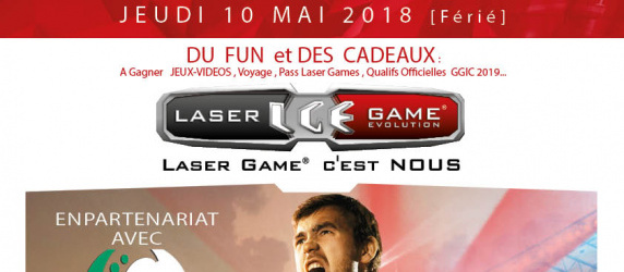 GRAND TOURNOI LASER GAMES and FIFA