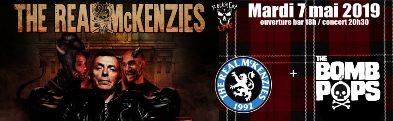 THE REAL MCKENZIES + THE BOMPBOPS