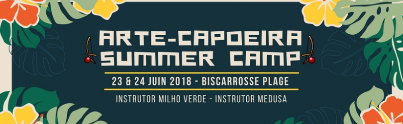 Arte-Capoeira Summer Camp 2018