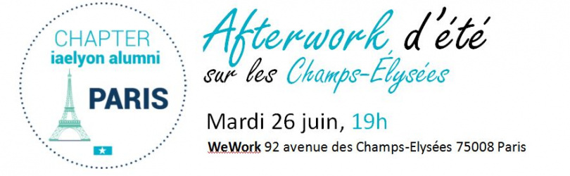 Afterwork Chapter iaelyon Alumni - Paris