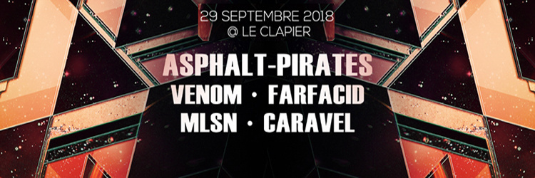 1001 Bass - Asphalt Pirates Venom Mlsn Farfacid & Caravel