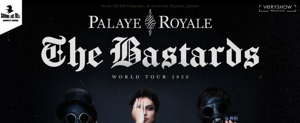 PALAYE ROYALE @ Lyon (Hard Rock Cafe)
