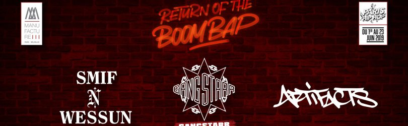 RETURN OF THE BOOM BAP : PARIS HIP HOP