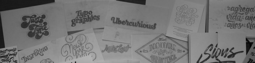 Workshop Lettering by Francis Chouquet
