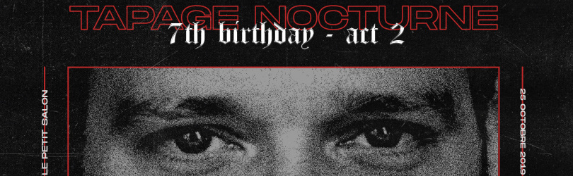 SOLD OUT / Tapage Nocturne 7th Birthday / Ben Klock