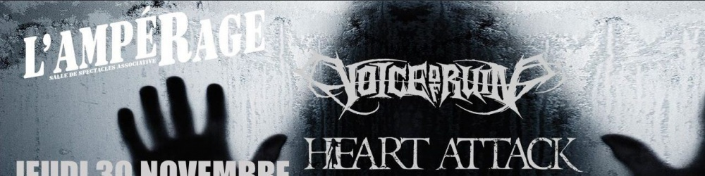 Trash'N'Core Night: Voice Of Ruin - Heart Attack + guest