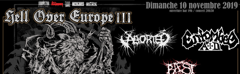 ABORTED + ENTOMBED A.D + BAEST