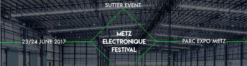 Metz electronique festival mef parc expo metz sur yurplan for Adresse metz expo