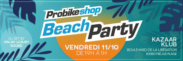 Probikeshop Beach Party