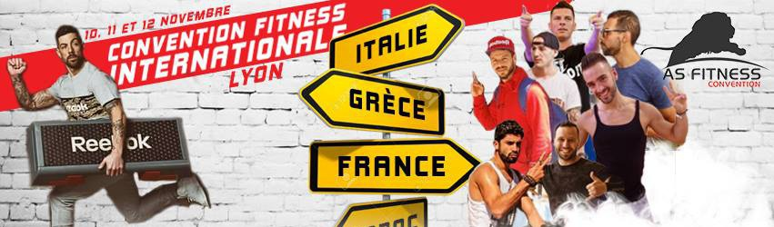 CONVENTION FITNESS INTERNATIONALE ASF LYON 2017