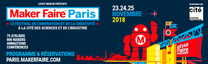MAKER FAIRE PARIS - Invitation BIC
