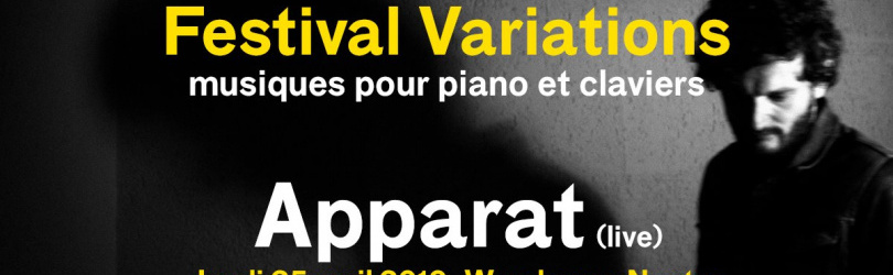 Festival Variations w. Apparat live - Warehouse Nantes