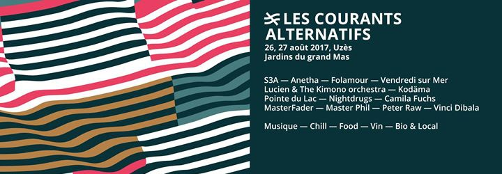 Festival Les Courants Alternatifs - 2017 - Uzès