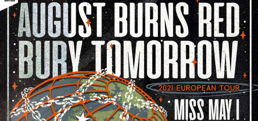 AUGUST BURNS RED + BURY TOMORROW + Guests