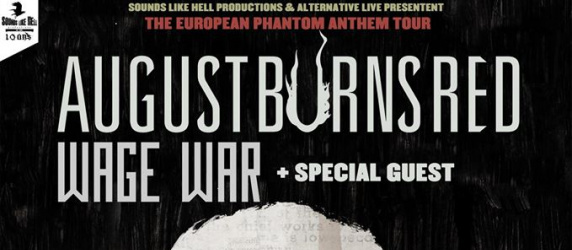 AUGUST BURNS RED + WAGE WAR + BETRAYING THE MARTYRS @ Ninkasi Gerland / Kao (Lyon)