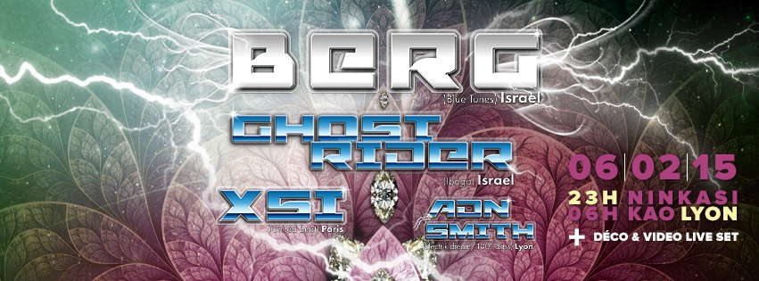 6.02.2015 BERG + GHOST RIDER + XSI + ADN SMITH