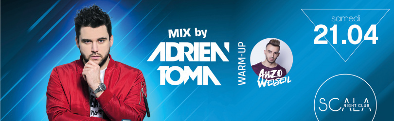 Samedi 21 Avril - Party Fun w/ Adrien TOMA