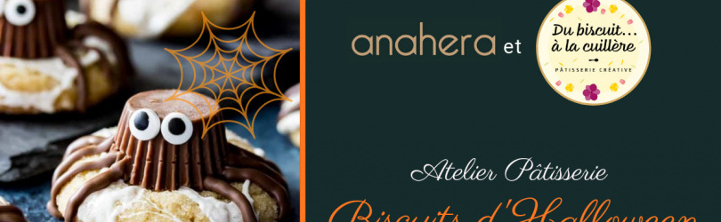 Atelier Biscuits d'Halloween