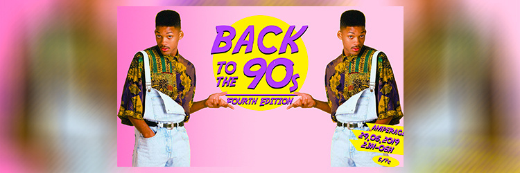C.P.Rec présente : Back To The 90' #4