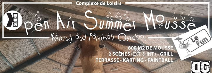 Open air summer mousse sur yurplan for Paintball lyon exterieur