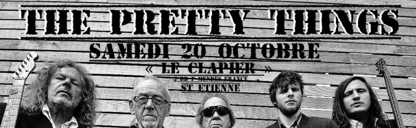 THE PRETTY THINGS+Jack's Samedi 20 Octobre St Etienne