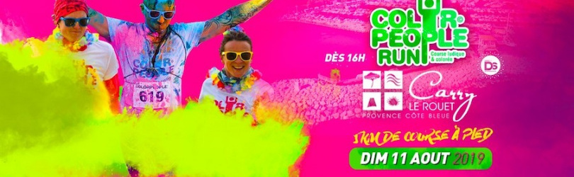 COLOR PEOPLE RUN 2019 @Carry-le-Rouet
