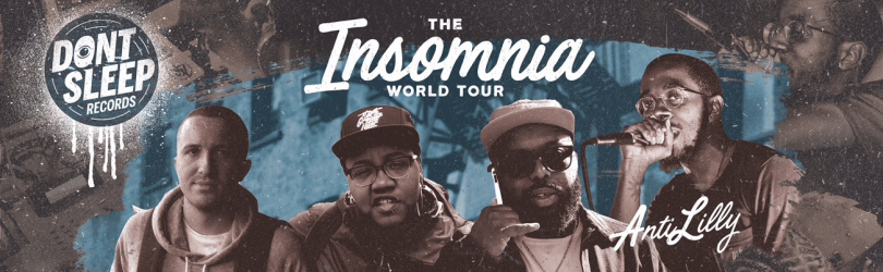 The Insomnia Tour - Bruxelles : Awon, Phoniks, Tiff the Gift, Anti-Lilly