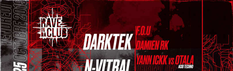 Rave In Da Club - Darktek, NSD, N-Vitral, Damien RK & more