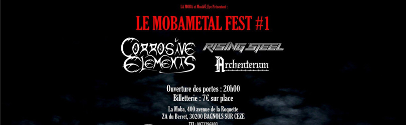 Moba Metal #1 : Corrosive Elements + Rising Steel + Archenterum