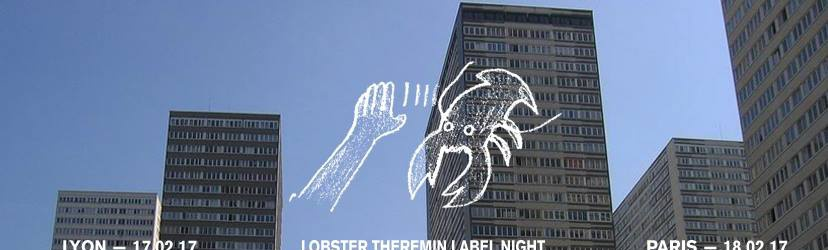 Lobster Theremin Label Night