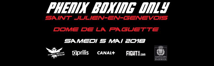 PHENIX BOXING ONLY 6