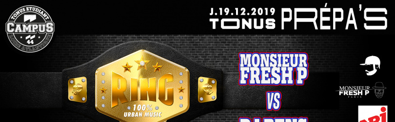 TONUS RING [DJ BENS VS FRESH P] + Highlight