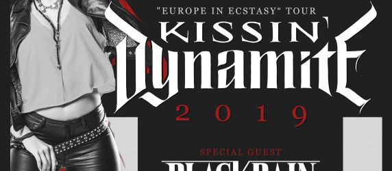 KISSIN' DYNAMITE + BLACKRAIN à Lyon (Hard Rock Cafe)