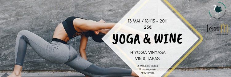 Yoga & Wine by Maparenthese
