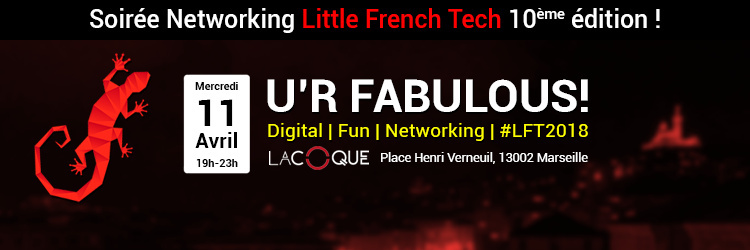 """U'R Fabulous!"" Apéro Little French Tech"